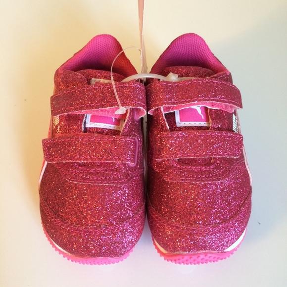 Puma Other - NWT! Puma steeple glitz glam pink toddler size 4